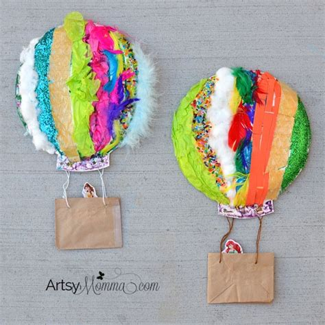 sensory crafts for textured air balloon sensory craft artsy momma