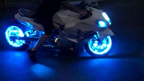 led lights for motorcycles motorcycle trick led lights by all things chrome