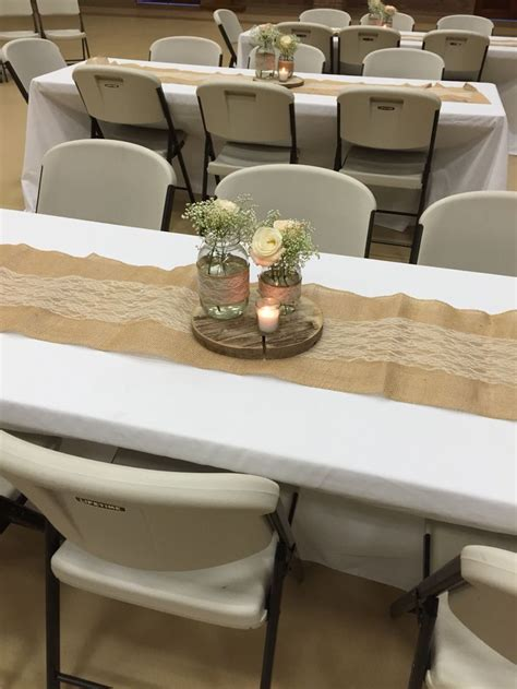 rustic table centerpieces 17 best ideas about burlap table runners on