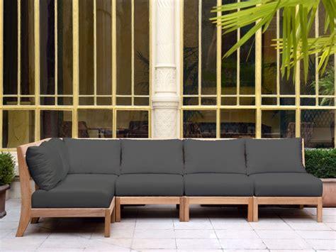 Table En Bois Blanc 4058 by Mobilier De Jardin Design Tectona Canap 233 Jardin Bois