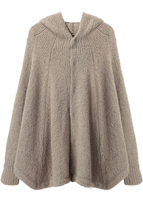 knitted hooded poncho comey compass dress ponchos
