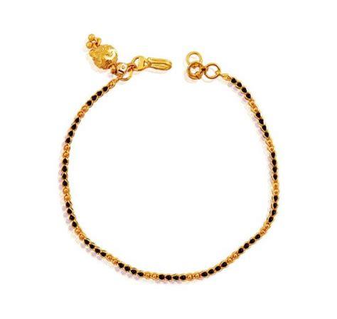 black and gold bead bracelet black gold bracelet ajbr60731 22k gold