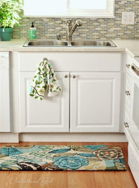 kitchen sink rug shelter kitchen remodel complete centsational