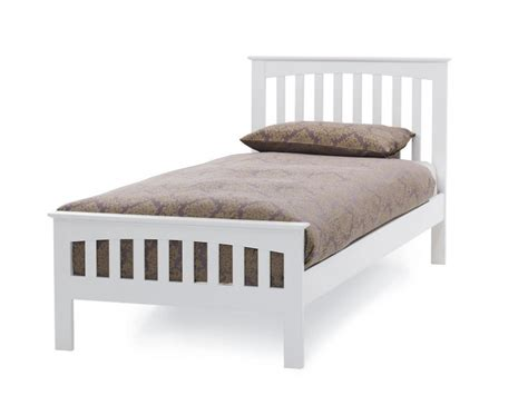 white bed frame wood home decorating pictures white single wooden bed frame