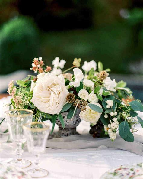 silk flower centerpieces for wedding reception floral wedding centerpieces martha stewart weddings