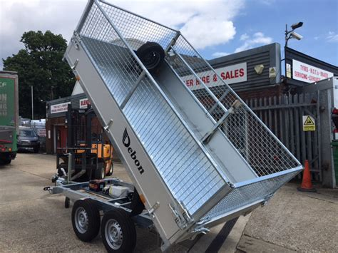 uk sale tipping trailers ifor williams power tipper trailers for