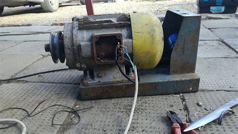 Motor Trifazic by Legarea Unui Motor Trifazic La 220 V