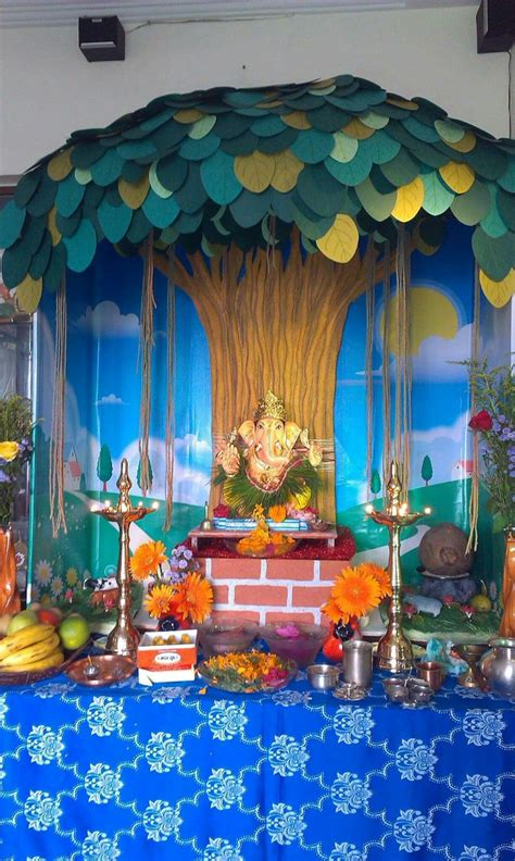 home decoration for ganesh festival 53 best images about ganpati decorations on