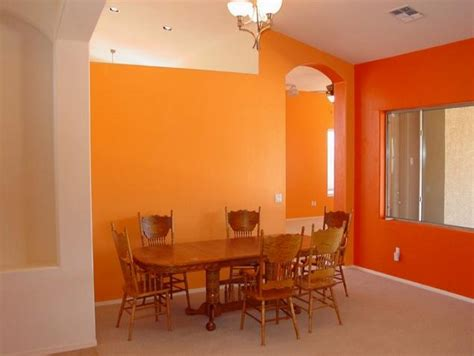 orange walls what you make it a few tips from a colour expert
