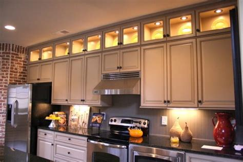 lighting above kitchen cabinets cabinet kitchen lighting
