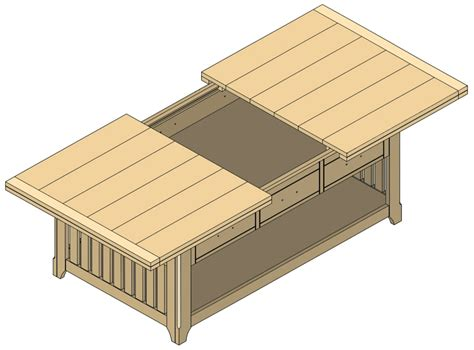 coffee table blueprints build modern coffee table design plans diy pdf wood