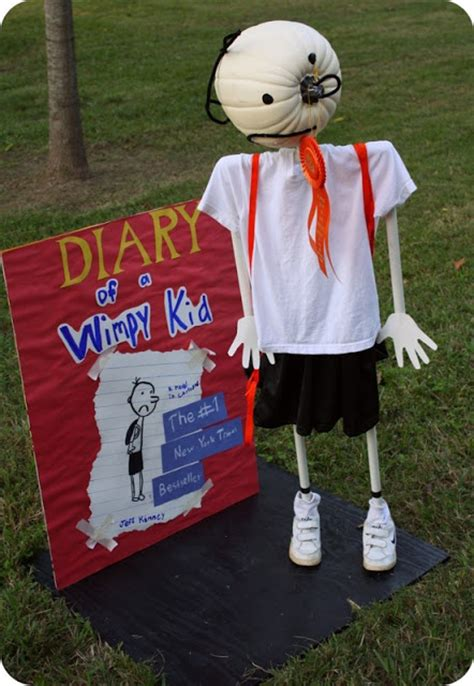 diary of a wimpy kid crafts diary of a wimpy kid pumpkin crafts