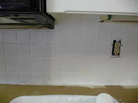 paint kitchen backsplash painting a tile backsplash hilldalehouse
