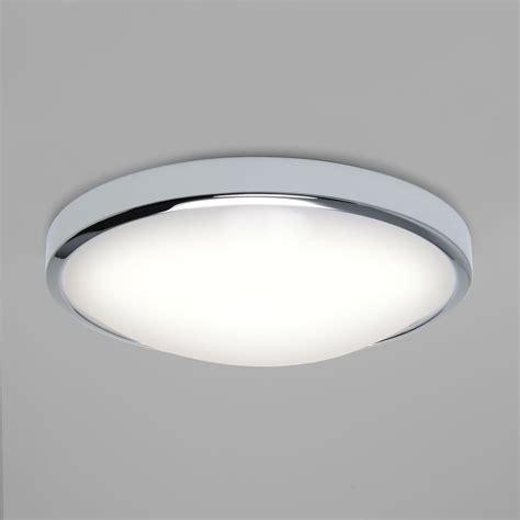 flush lights ceiling astro 7831 osaka led flush ceiling light polished chrome ip44