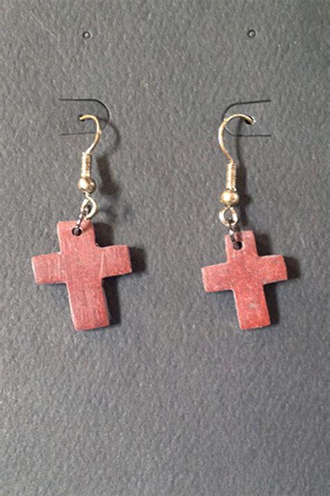 jewelry classes mn pipestone cross earrings