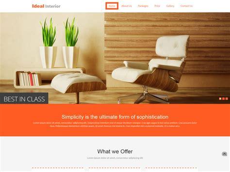 furniture templates for interior design 19 free interior design and furniture website templates