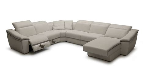 large leather sofas refined genuine leather sectional plano v jasper