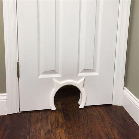 large cat doors interior doors cat door pokes its through cat door in