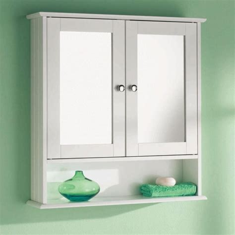 White Mirrored Bathroom Cabinet by Wall Mounted Bathroom Mirrored Cabinet 6234 P 5bekm