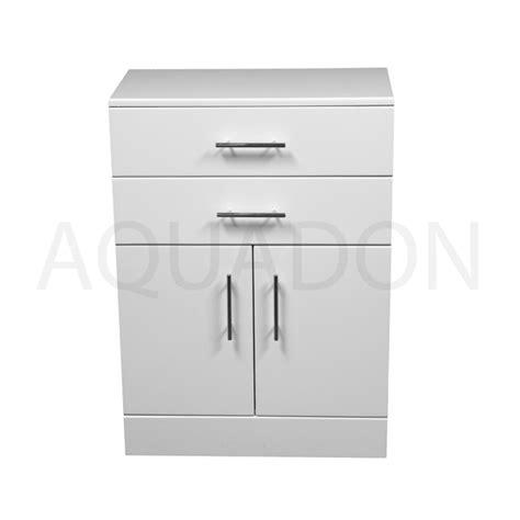 white gloss bathroom storage bathroom cloakroom vanity storage furniture units gloss