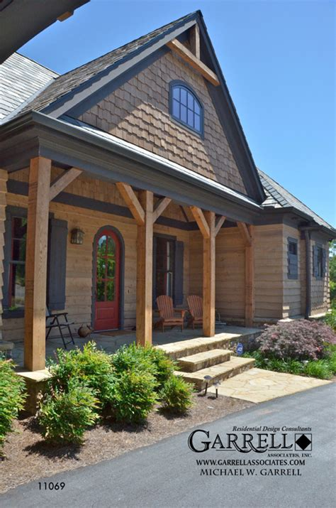 house plans with covered porches lake cottage house plan house plans by garrell associates inc
