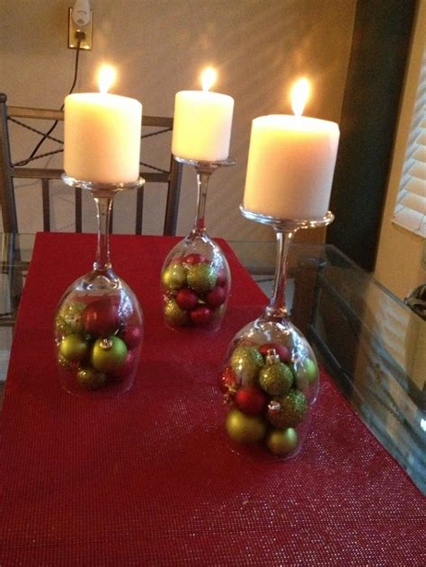 wine glass decorations wine glass candle decoration easyday