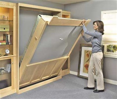 build bed diy murphy beds decorating your small space