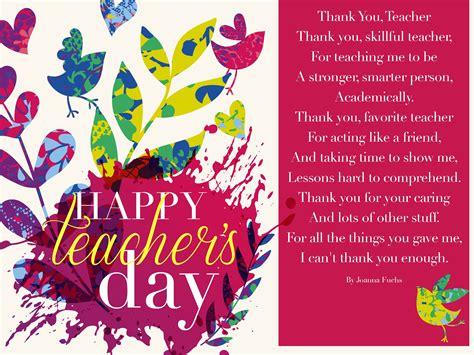 teachers day greeting card for world teachers day 2016 greeting cards posters ecards best
