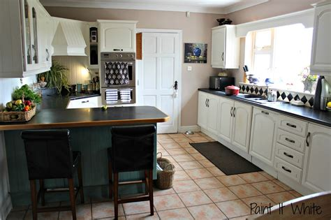 sloan paint on kitchen cabinets remodelaholic beautiful white kitchen update with chalk