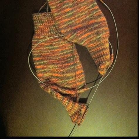 knit 2 socks on 1 circular needle two socks on one circular needle my projects
