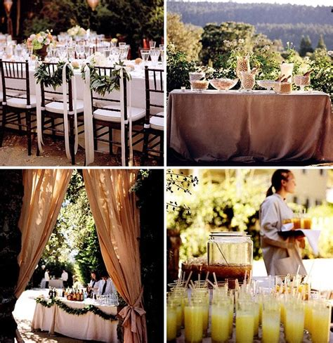 backyard wedding food ideas how to throw a backyard wedding the food table decor