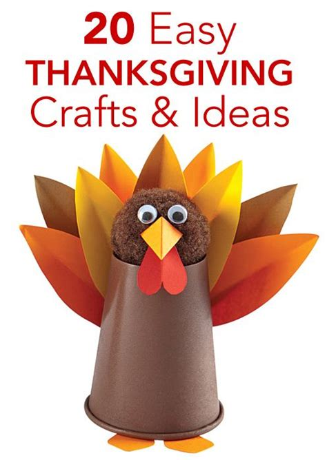 easy thanksgiving craft ideas 20 easy thanksgiving crafts and activities for