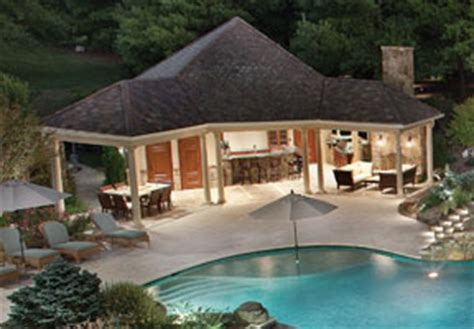 house plans with pools and outdoor kitchens moonlight serenade aquatic technology pool spa creating water as infinity pool