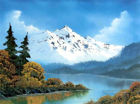 bob ross painting free peaceful waters bob ross freehand landscapes painting in