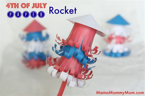 easy 4th of july crafts for bombs bursting in air simple 4th of july craft