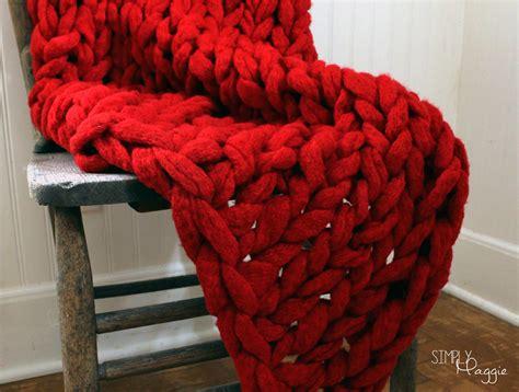 simply maggie arm knitting big stitch blankets by simply maggie simplymaggie
