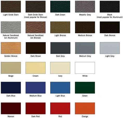paint colors for standard paint colors matthews bronze international