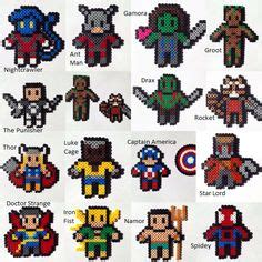 hama marvel 1000 images about hama heroes on perler