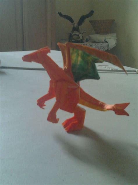 charizard origami origami charizard by wolfsanchez on deviantart