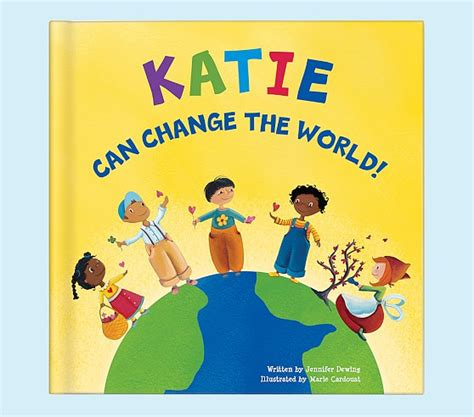 personalized books for toddlers with picture i can change the world personalized book pottery barn