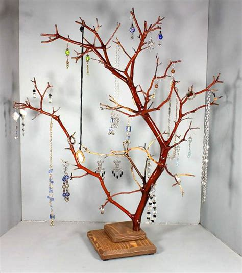 how to make a jewelry tree jewelry tree stand anthropologie pictures reference