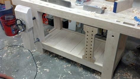 linear woodworking roubo workbench leg vise alternative linear bearings