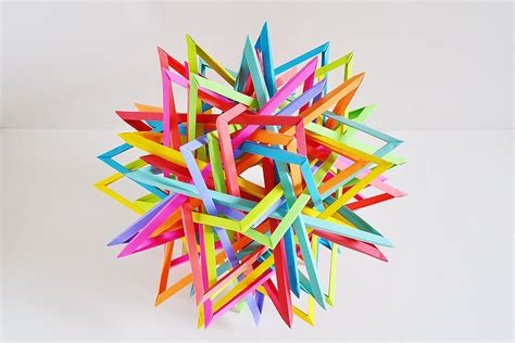 interlocking origami the amazing craziness of byriah loper s geometric origami