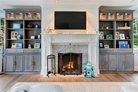 custom built in bookshelves custom cabinet wall built ins brielle new jersey by design