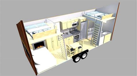 1 Bedroom Modular Homes Floor Plans talented architect tackles the tiny house and comes up