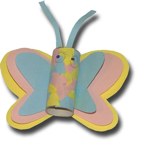 butterfly toilet paper roll craft paper crafts for children 187 toilet paper roll butterfly