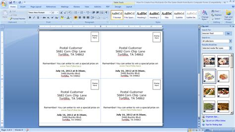 how to make index cards in word 2013 card 4x6 index card template word