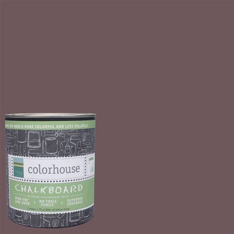 chalkboard paint at home depot colorhouse 1 qt wood 05 interior chalkboard paint 644670