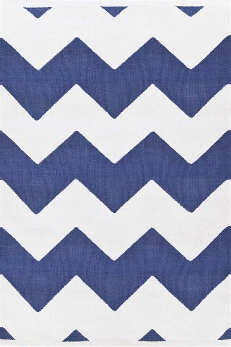 chevron indoor outdoor rug chevron indoor outdoor rug in denim and white by dash albert
