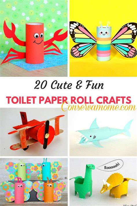 toilet paper crafts for best 20 toilet paper roll crafts ideas on